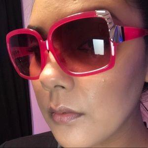 Steve Madden Hot Pink Sunglasses